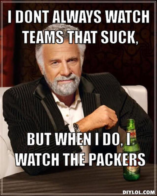 The Packers Suck Meme War