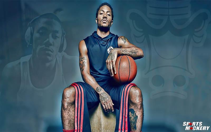 Derrick Rose Tattoos