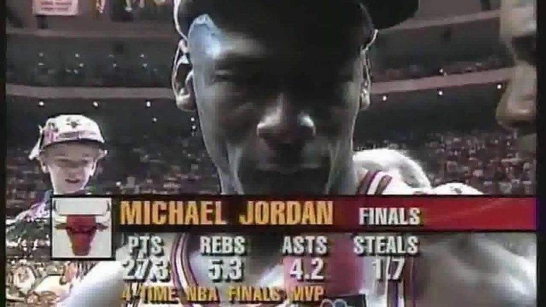 Michael Jordan Crying