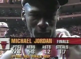 Michael Jordan Crying