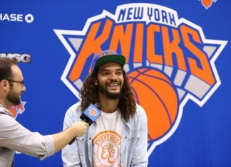 knicks joakim noah just became father