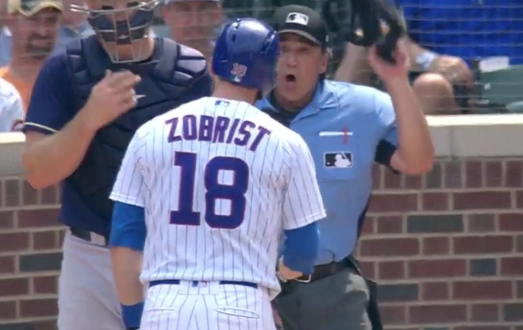 Ben Zobrist Chicago Cubs Spring Training Baseball Player Jersey