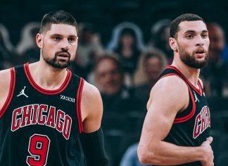 Nikola Vucevic and Zach LaVine