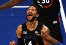 Derrick Rose Knicks Playoffs