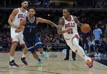 Chicago Bulls Preseason DeMar DeRozan Nikola Vucevic